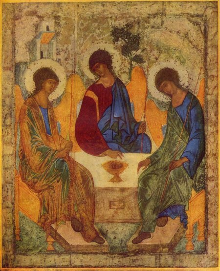 The Hospitality of Abraham by Andrei Rublev1
